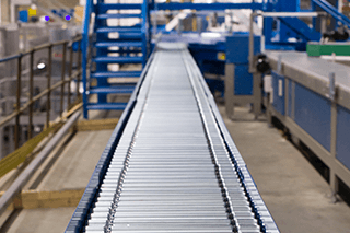 CPS Roller Conveyor | gravity rollers, driven rollers, accumulating roller conveyors and zero pressure roller conveyors.